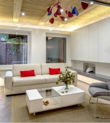 Проект «Особенная гостиная» при участии Cosmorelax