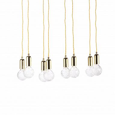 Подвесной светильник Crystal Bulb прямоугольный