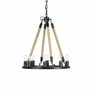 Подвесной светильник Bulb Candle 8 ламп диаметр 60