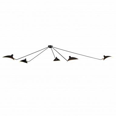 Потолочный светильник Spider 5 ламп