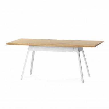 Обеденный стол Yardbird прямоугольный 180х90 с металлическими ножками