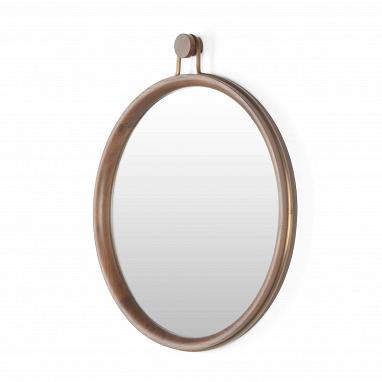 Настенное зеркало Utility овальное высота 70,2