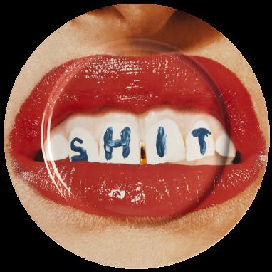 Тарелка Dentures