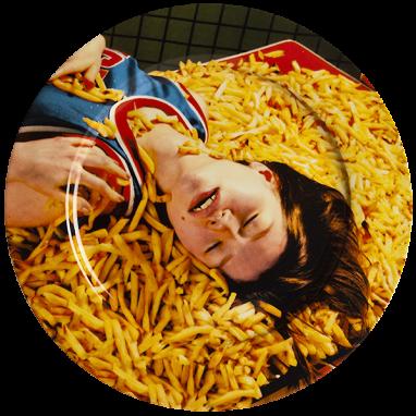 Тарелка Chips