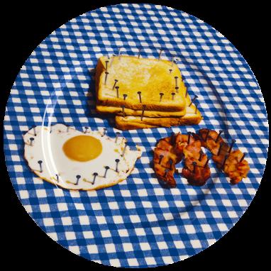 Тарелка Breakfast