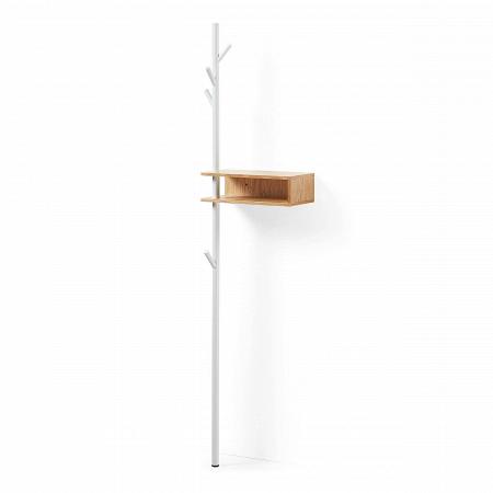 Вешалка BELGRAD металл дуб купить в интернет-магазине дизайнерской мебели Cosmorelax.Ru