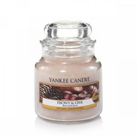 Купить Свеча маленькая  в стеклянной банке Ebony and Oak в интернет-магазине