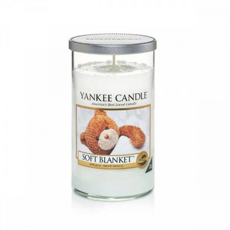 Купить Свеча средняя в стеклянном стакане Soft Blanket в интернет-магазине