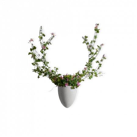 Купить Настенная ваза с каркасом для плетения Menagerie Elk в интернет-магазине