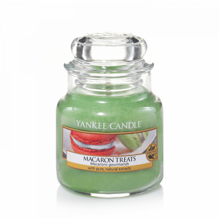 Купить Свеча маленькая в стеклянной банке Macaron Treats в интернет-магазине
