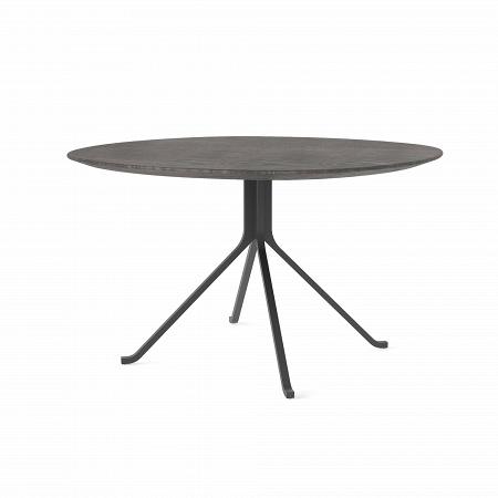 Купить Обеденный стол Blink с деревянной столешницей диаметр 120 в интернет-магазине
