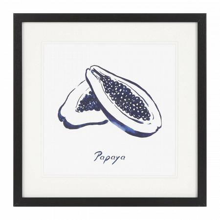 Купить Постер Blue Papaya в интернет-магазине