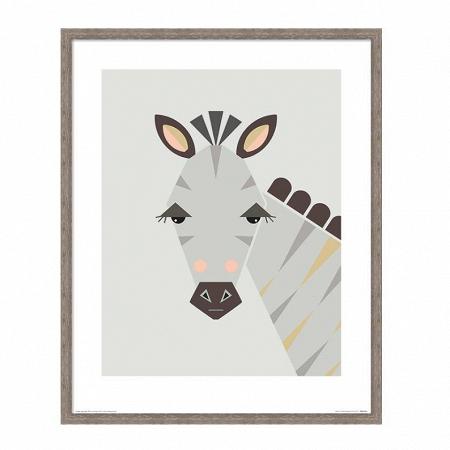 Купить Постер Zebra в интернет-магазине