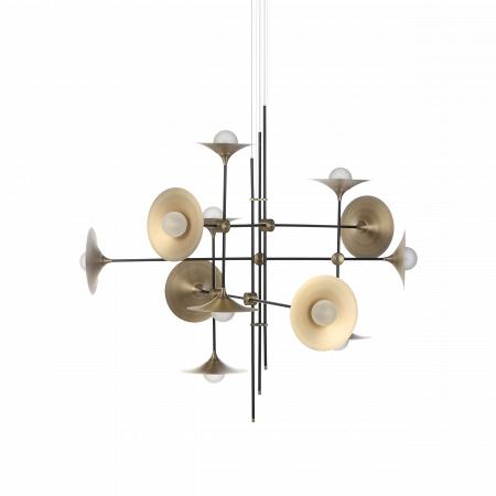 Купить Потолочный светильник Jenkins, 12 ламп в интернет-магазине