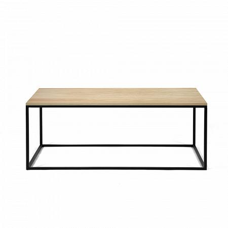 Купить Журнальный стол Lingard black светлый дуб в интернет-магазине