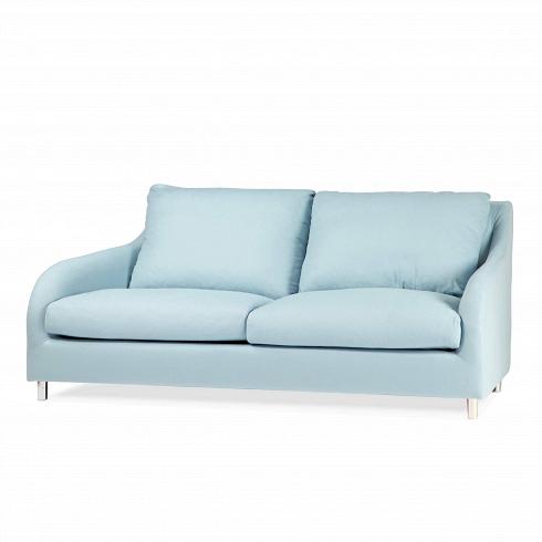 Диван Lily LuxДвухместные<br>Диван Lily Lux — это элегантность и простота, соединенные в качественной и удивительно красивой мебели знаменитыми дизайнерами компании Sits. Красивые невысокие ножки, изящные подлокотники и мягкие подушки дивана — все это говорит нам об отличном качестве и соответствии дизайна дивана современным требованиям к домашнему интерьеру. На выбор имеется несколько легких светлых цветовых оттенков обивки.<br><br><br> У дивана Lily Lux<br>небольшие размеры, что позволяет вам творчески подойти к его разме...<br>
