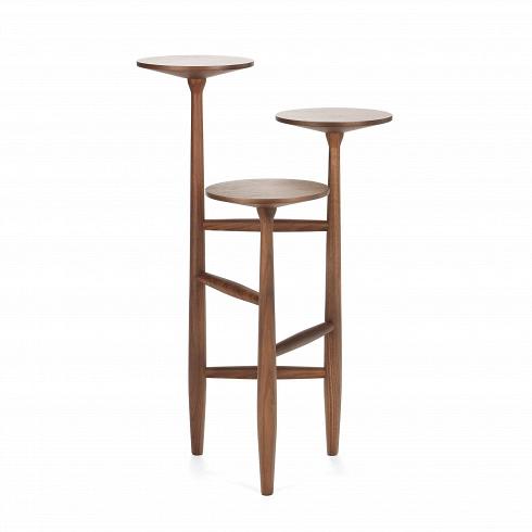 Кофейный стол Tripod высота 75Кофейные столики<br>Данная модель принадлежит линейке кофейных столов Tripod от именитого американского дизайнера Шона Дикса. Дизайн кофейного стола не только забавный, но и невероятно стильный. Это уже успели понять огромное количество клиентов Шона по всему миру. Среди его заказчиков именитыеYUM! Brands, Moschino, Bluebell, Harrods, Bosco diCiliegi, Design Within Reach, Edimass, Fiorucci, Byblos, ArtsGroup, Incanto, Pobeda Cinema Complex, театр Ла Скала, I.T. идругие.<br> <br><br>Кофейный стол Trip...<br><br>DESIGNER: Sean Dix