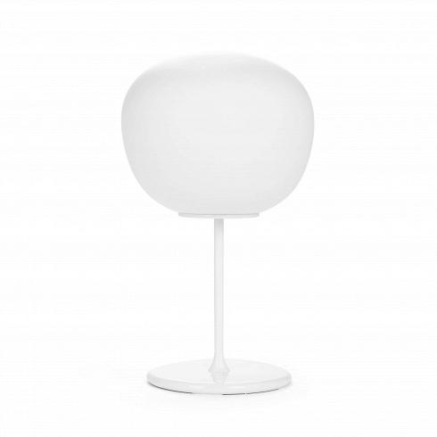 Настольный светильник Lumi Mochi диаметр 38Настольные<br>Серия дизайнерской линии Lumi Mochi от итальянского дизайнера Валерио Соммелла — это подвесные, настольные и напольные светильники, выполненные из сатинированного дутого стекла самых различных форм. Стильный и современный настольный светильник Lumi Mochi диаметр 38 — это светильник, выполненный в форме японского пирожного мочи. <br><br><br> Ультрамодный светильник будет умело сочетаться и подходить к любому стилю интерьера, начиная от минимализма и заканчивая эклектикой. Купить настольный свет...<br><br>DESIGNER: Valerio Sommella