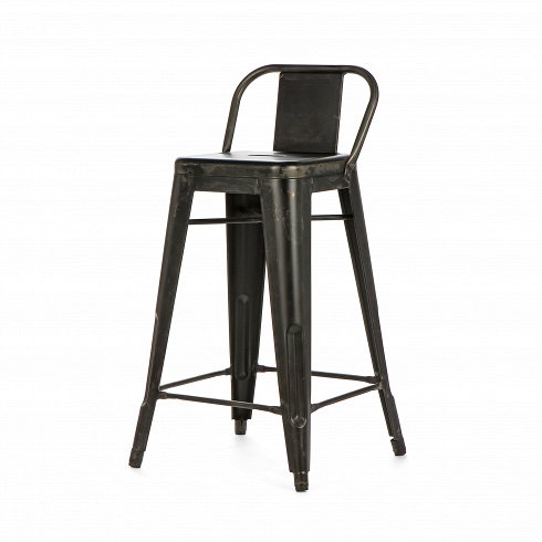 Барный стул Low Back TolixПолубарные<br>Бренд Tolix, детище Ксавье Пошара, уже много лет пользуется всемирной популярностью в самых разных помещениях, как общественных, так и частных. И стилизуют этой мебелью не только индустриальные интерьеры, но и модерн, ар-деко и другие направления.<br><br><br> Представленный вашему вниманию барный стул Low Back Tolix — это отличный вариант мебели для отдыха как в помещении, так и на открытом воздухе.Гальванизированная сталь цвета пушечной бронзы — единственный исходный материал. Надежные,...<br><br>DESIGNER: Xavier Pauchard