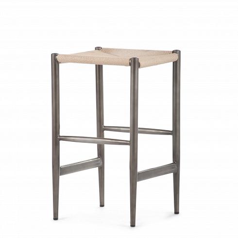 Барный стул WegnerБарные<br>Удобный и практичный барный стул Wegner — это модель барного стула, которая идеально подходит для интерьера современных кухонь. Его дизайн являет собой отличное сочетание прочных материалов — ротанга и нержавеющей стали. Полная симметрия и правильная геометрия делают его дизайн лаконичным и вместе с тем минималистичным.<br><br><br> Дизайн стула соответствует популярному в северныхстранах датскому модерну. Однако с момента своего появления в середине прошлого столетия он распространил...<br>