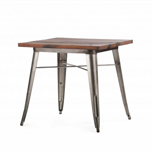 Обеденный стол TolixОбеденные<br>Данная модель обеденного стола — это одна из вариаций столов из коллекции Tolix, которая представляет собой широкий ассортимент мебельной продукции. Каждаямодельсчитается эталоном современного дизайна, впервые появившегося в свет в тридцатые года прошлого столетия. Когда французский дизайнер Ксавье Пошар разработал особый метод обработки металла, гальванизацию, в свет вышел известный на весь мир стул А. Сейчас он изготавливается во всевозможных цветовых и текстурных вариациях, ста...<br><br>DESIGNER: Xavier Pauchard