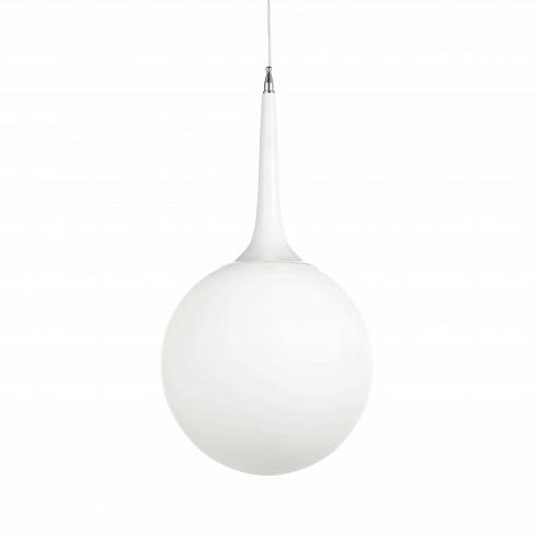 Подвесной светильник CastoreПодвесные<br>Подвесной светильник Castore — воплощение минимализма. Этот современный светильник настоящая находка для тех, кто не любит в интерьере кричащий дизайн. Выдержанные цвет и форма светильника обязательно понравятся всем, кто ждет от светильника простой функциональности. <br><br><br> Придумал его эксцентричный итальянский дизайнер, один из основателей реформистской группы «Мемфис» Микеле Де Лукки, который всегда был в авангарде и провозгласил революцию в дизайне не только интерьеров квартир и домов...<br><br>DESIGNER: Michele de Lucchi