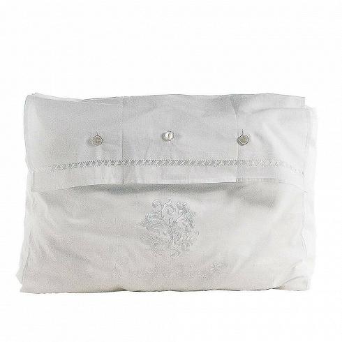 Сумка LinensРазное<br>Итальянский бренд Seletti производит не только суперсовременные и зачастую провокационные предметы декора, но и вполне традиционные вещи, позаимствованные из мира беленых домиков, черепичных крыш и старых олив на побережье.<br><br><br> Коллекция хлопчатобумажных мешочков и чехлов для белья и одежды так и называется — Guardaroba Mediterraneo, «Средиземноморский гардероб». Размеры и назначение могут быть разные: есть специальная сумка Linens, чтобы хранить простыни. А есть поменьше — для купальн...<br>