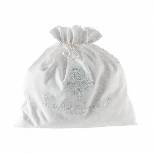 Сумка LaundryРазное<br>Итальянский бренд Seletti производит не только суперсовременные и зачастую провокационные предметы декора, но и вполне традиционные вещи, позаимствованные из мира беленых домиков, черепичных крыш и старых олив на побережье.<br><br><br> Коллекция хлопчатобумажных мешочков и чехлов для белья и одежды так и называется — Guardaroba Mediterraneo, «Средиземноморский гардероб». Размеры и назначение могут быть разные: есть специальная сумка, чтобы хранить простыни. А есть поменьше — для купальников ил...<br>