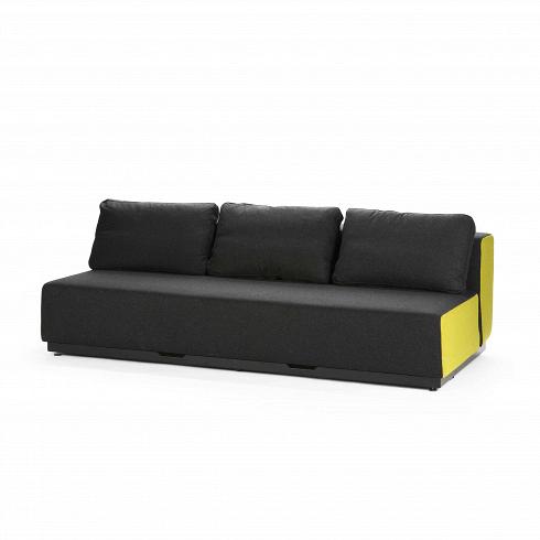 Диван Nevada 3-PРаскладные<br>Датская компания Softline — известный представитель минималистичных решений в дизайне интерьера. Этот бренд известен прежде всего своей мягкой мебелью, с изготовления которой в 1979 году началась история компании. Экспериментируя с формами и цветами, дизайнеры остаются верными главной идее, и поэтому в диванах Softline всегда заметна яркая индивидуальность: однотонные расцветки (ткани с принтами используются компанией крайне редко) и плавные, мягко очерченные линии. <br><br><br>  Диван Nevada 3...<br><br>DESIGNER: Busk + Hertzog