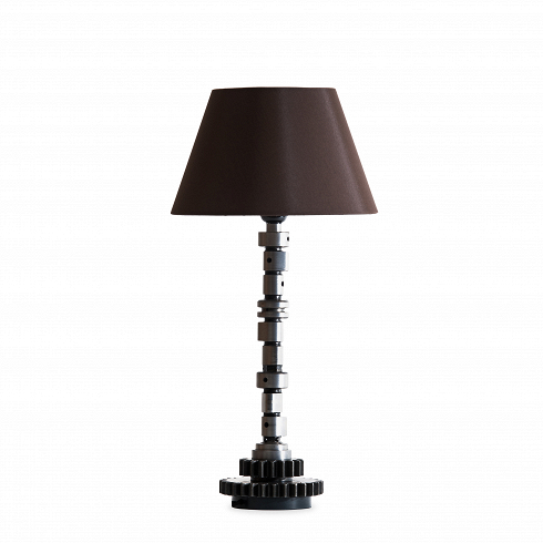 Лампа настольная (коленвал)