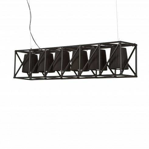 Подвесной светильник  MultilampПодвесные<br>Подвесной светильник Multilamp от дизайнера Эмануэле Маджини — это ультрамодный софит, соединяющий в себе свет шести ярких LED-ламп. Строгий дизайн светильника определенно придется по вкусу всем любителям грубоватых форм. Четкие грани и правильные геометрические формы изделия говорят о превосходном вкусе создателей этого софита.<br> <br> Порой компания Seletti, для которой подвесной светильник Multilamp и был разработан, демонстрирует совершенно необычные для себя линейки. Но тут компания осталас...<br>