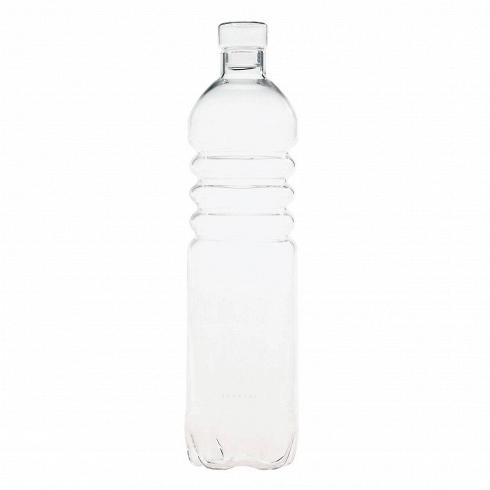 Бутылка Estetico QuotidianoПосуда<br>Бутылка Estetico Quotidiano из коллекции столовой посуды Estetico Quotidiano. Что внашей жизни может быть привычнее инезаметнее, чем, например, одноразовая посуда или пластиковые бутылки? Разве только посуда всобственном доме, нарисунок которой уже давно необращаешь внимания.<br><br><br> Дизайнер Алессандро Дзамбелли совместно с компанией Seletti выпустили коллекцию столовой посуды под названием Estetico Quotidiano, что можно перевести ситальянского языка...<br>