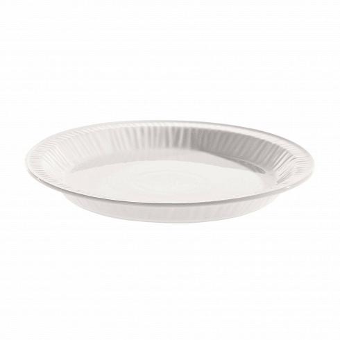 Тарелка для десерта Estetico QuotidianoПосуда<br>Тарелка для десерта Estetico Quotidiano из коллекции столовой посуды Estetico Quotidiano. Что внашей жизни может быть привычнее инезаметнее, чем, например, одноразовая посуда или пластиковые бутылки? Разве только посуда всобственном доме, нарисунок которой уже давно необращаешь внимания.<br><br><br> Дизайнер Алессандро Дзамбелли совместно с компанией Seletti выпустили коллекцию столовой посуды под названием Estetico Quotidiano, что можно перевести ситалья...<br>