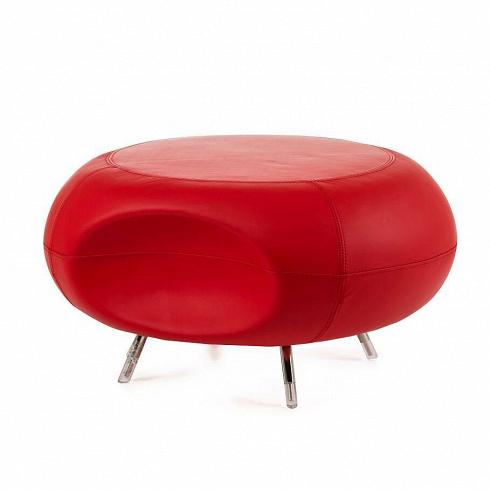 Пуф RoundПуфы и оттоманки<br>Особенностямипуфа Round являются его выразительная форма и яркое цветовое исполнение. Футуристичный? Минималистичный? А может хай-тек? Одно очевидно, дизайн пуфа универсален для использования в любом современноминтерьере.<br><br>Пуфимеет массивную округлую форму с небольшой вмятиной, благодаря чему на нем очень удобно сидеть притянув ноги под углом от 90 градусов.Пуф подходит для использования в гостиной или спальной комнате в контрастных цветах.<br>