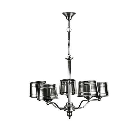 Светильник (24765-5L-HL)Подвесные<br>ROOMERS – это особенная коллекция, воплощение всего самого лучшего, модного и новаторского в мире дизайнерской мебели, предметов декора и стильных аксессуаров.<br>Интерьерные решения от ROOMERS – всегда актуальны, более того, они - на острие моды. Коллекции ROOMERS тщательно отбираются и обновляются дважды в год специально для вас.<br>