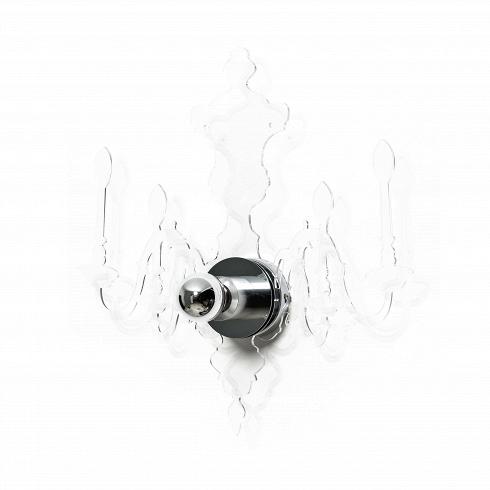 Настенный светильник LOUIS 5DНастенные<br>Дизайнерский настенный светильник Louis 5D – это лампа в стиле семнадцатого века, передающая в любой интерьер нотки стиля барокко и рококо. Однако стоит заметить, что такая форма не обязывает использовать светильник только в определенном оформлении – он абсолютно универсален. Лучше всего будет смотреться как ночник над кроватью или над прикроватной тумбочкой. Прозрачный акрил, из которого выполнен дизайнерский светильник, отбрасывает на стену очень изящную, передающую его форму тень, а по...<br><br>DESIGNER: Blandine Dubos