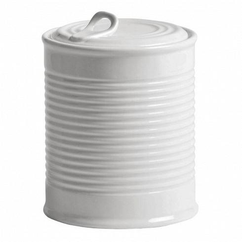 Банка Estetico QuotidianoПосуда<br>Банка Estetico Quotidiano из коллекции столовой посуды Estetico Quotidiano. Что внашей жизни может быть привычнее инезаметнее, чем, например, одноразовая посуда или пластиковые бутылки? Разве только посуда всобственном доме, нарисунок которой уже давно необращаешь внимания.<br><br><br> Дизайнер Алессандро Дзамбелли совместно с компанией Seletti выпустили коллекцию столовой посуды под названием Estetico Quotidiano, что можно перевести ситальянского языка к...<br>