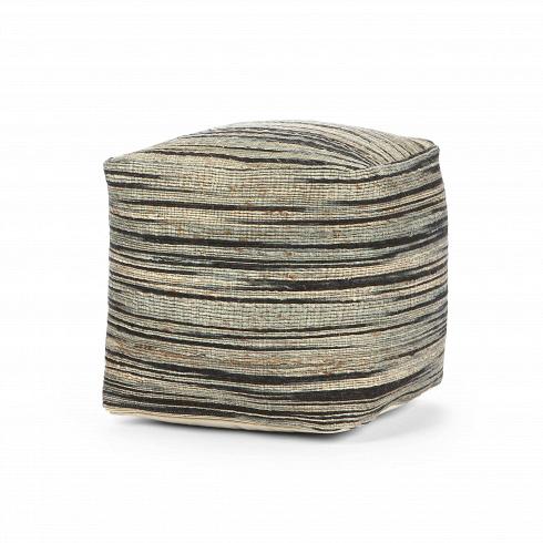 Пуф ShiroПуфы и оттоманки<br>Такая интерьерная мебель, как пуф, — это незаменимый в быту элемент декора, который являет собой дополнительное место для сидения. Он непременно окажется к месту в таких жилых комнатах, как детская и гостиная. Материал из которого изготовлен пуф, — джут, очень прочная и жесткая ткань. Ее функциональный плюс — высокая износостойкость, благодаря чему пуф Shiro — долговечное изделие, актуальное для семей с детьми.<br><br><br> ПуфShiroотлично подходит современным интерьерам в стиле лофт...<br>