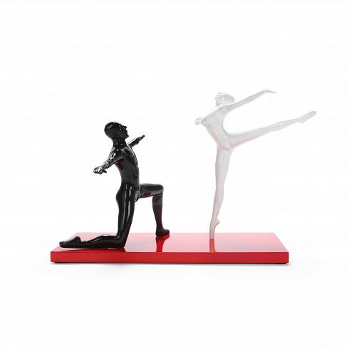 Статуэтка BalletНастольные<br>Олицетворение этого настольного декора — сила и грация. Это две стороны одного целого. Баланс этого изделия достигнут не только благодаря композиции, но и грамотно подобранным цветам. Черный, белый и красный — три цвета, которые идеально сочетаются вне моды и времени, поэтому статуэтка Ballet — это не только стильный, но и лаконичныйэлемент декора.<br> <br> Изделие изготовлено из ставшего популярным в последнее время материала — полистоуна. Такая популярность обусловлена невероятной прочнос...<br>