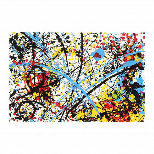 Картина AbstractКартины<br>Когда рука художника касается холста, происходит особая магия, которая превращает белоеполотно в настоящее произведение искусства. Таинство живописи между тем передается в атмосферу окружающего интерьера, привнося если не уют, то живую энергетику.<br> <br> Картина Abstract — это масляная живопись, которая не просто освежит, но и сделает интерьер вашего дома модным и современным. Как и многие другие направления в искусстве, абстракционизм стремится передать гармонию и красоту, однако д...<br>