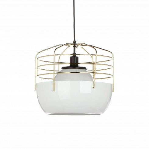Подвесной светильник Bluff City 14Подвесные<br>Простота и удобство использования, ненавязчивый и легкий дизайн – все это сочетается в оригинальномподвесном светильникеBluffcity 14. Этот светильник отличается неординарным, в большой степени смелым стилем, сочетает в себе элементы, непредсказуемые и не свойственные для комнатного освещения.<br><br><br> Жесткие металлические прутья крепятся к изящному основанию белого цвета -Bluffcity 14напоминает оригинальную птичью клетку, ставшую приютом для комнат...<br>