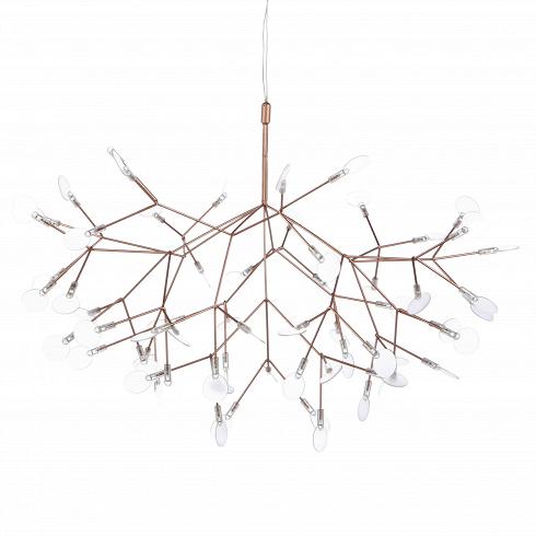 Подвесной светильник Heracleum IIПодвесные<br>Декоративная дизайнерская LED лампа вдохновлена растением борщевик (отлат. Herбclйum). Его соцветия напоминают маленькие зонтики, расположившиеся на множестве отдельных веточек. Именно структура цветков вдохновила на создание сложного, но органичногосветильника Heracleum II.<br> <br><br><br> Лепестки светильника не фиксированы, их положение можно менять создавая новые и новые вариации. Светильник станет отличным дополнением для гостиной или спальной комнаты в современном ...<br>