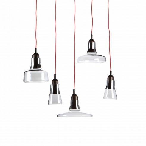Подвесной светильник ShadowsПодвесные<br>Подвесной светильник Shadows - это тот дизайн, который приятно вас удивит. Минималистичность в деталях - это одно из главных преимуществ светильника. При этом он весьма необычен - каждый абажур является частью одного светильника.<br><br><br> Изделие отлично подходит для помещений с высокими потолками. Говоря конкретно, то использовать его можно в лофт-интерьере - для него он подходит и конструкцией, и дизайном. Лофт любит приглушенные цвета, простой дизайн и материалы природного происхожд...<br>