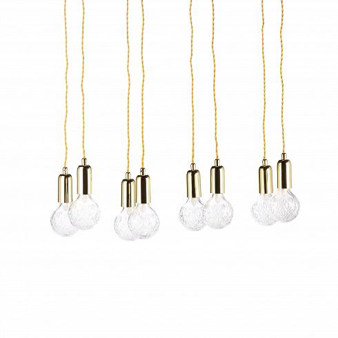 Подвесной светильник Crystal BulbПодвесные<br>Светильники в форме гильз или капсул быстро набирают популярность, они стильные и практичные, подходящие практически под каждый интерьер.Подвесной светильник Crystal Bullb- это наборсветильников в количестве восьмиштук.<br><br><br> Такие светильники легко осветят даже самую большую залу, придадут торжественности. Покупая целый набор, можно украсить непривычными деталями декора полностью весь дом или квартиру. Несмотря на миниатюрность, лампочки дают дост...<br>