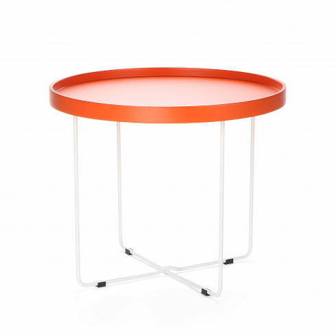 Кофейный стол ArvikaКофейные столики<br>Кофейный стол в домашнем интерьере не всегда необходим, но ценится теми, кто любит понежиться в удобном кресле за просмотром фильмов или сериалов. Но как быть, когда в квартире не хватает места, чтобы иметь отдельный столик для кофе? На это у компании Cosmo есть ответ — компактность. Благодаря конструкции и без того небольшойкофейный стол Arvika легко складывается, и его не менее легкоспрятать, предположим, вкладовую или за высокий шкаф.<br> <br> Данная модель кофейного ст...<br>