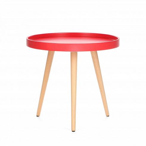 Кофейный стол KiloКофейные столики<br>Кофейный стол Kilo — это небольшой столик, который прекрасно сочетается с интерьером любой современной гостиной. Несмотря на легкость, он прочен и устойчив, а каким еще качествам должен отвечать хороший кофейный стол?<br> <br> Столешница выполнена из прочнойМДФ в форме подноса. Бортики, обрамляющие столешницу, предотвращают падение лежащих на поверхности предметов, а пролитая на столе жидкость никогда не окажется на вашем любимом ковре! Стол подойдет для размещения в комнате, декориро...<br>