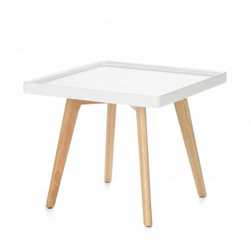 Кофейный стол DrewКофейные столики<br>Кофейный стол Drew — классический представитель мебели в скандинавском стиле. Он подойдет для использования в гостиной или в спальной комнате, оформленной по канонам этого направления. <br> <br> Популярный белый и серый цвета столешницыв сочетании с прочными устойчивыми ножками из плотной древесины дуба составляют яркий приметный дизайн, который между тем прекрасно сочетается и с любым другим по стилю интерьером. Его можно использовать как прикроватный или же придиванный столик. Значительно...<br>