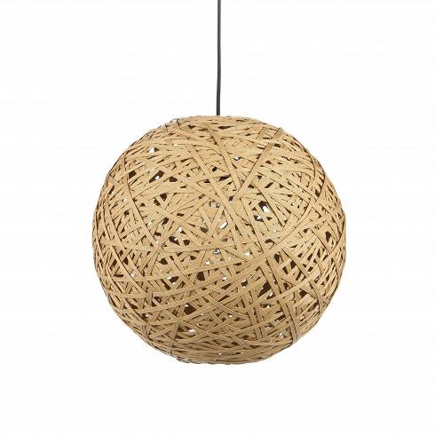 Подвесной светильник Nest BallПодвесные<br>Порой чтобы создать по-настоящему стильный интерьер, совершенно не обязательно прибегать к покупке дорогостоящего наполнения. Очень важно достигнуть баланса простоты и стиля мебели, света и декора.Подвесной светильник Nest Ball — это отличный инструмент, с которым можно создать сдержанный, но стильный дизайн помещения для жизни.<br> <br> Благодаря шарообразной форме абажура, светильник создает необычный световой рисунок на стенах — один из последних трендов в мире дизайна интерьеров. ...<br>