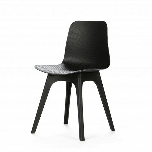 Стул CoachИнтерьерные<br>Обставляя комнату в современном стиле хай-тек или минимализм, дизайнер делает упор на простоту и лаконичность. В силуэтах предметов мебели и освещения не должно быть ни одной лишней детали — дизайн подчиняется функциональности. Если это стул, то исключительно для сидения,если обеденный стол, то только для трапез.<br> <br> Особенно стильно смотрятся глянцевые стулья, выполненные в одном цвете, — стул Coach явное тому подтверждение. Стройный силуэт стула в черном выглядит не просто элег...<br>