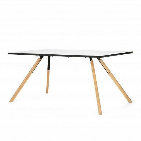 Обеденный стол Arnhem прямоугольныйОбеденные<br>Поселите в своем доме частичку дизайнерского стиля в современном ключе вместе со столом Arnhem прямоугольный. Этот стильный дизайнерский предмет интерьера поднимает понятие уюта на новый уровень.<br> <br> Конструктивизм — вот стиль, который отлично описывает данную модель стола. Каждойего детали придали правильную геометрическую форму, что является обязательным атрибутом названного направления. Между тем конструктивизм любит холодные и монохромные цветовые гаммы, среди которых есть и ...<br>